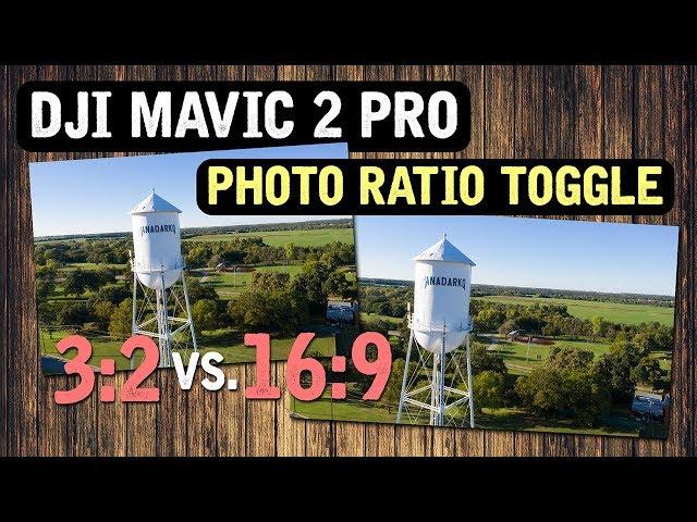 DJI Mavic 2 Pro / PHOTO RATIO Toggle (Tutorial)