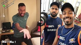 Mumbai Indians | Inside Dressing Room Funny Videos | Vivo Ipl 2018