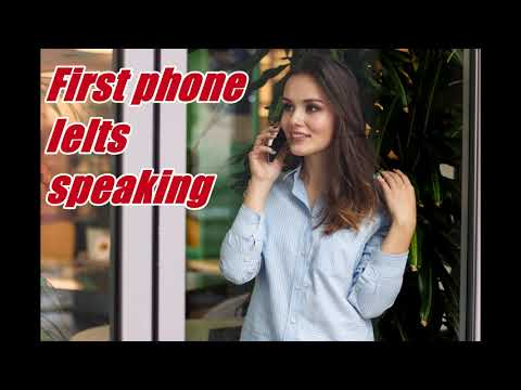 IELTS CUE CARD-FIRST MOBILE PHONE | IELTS SPEAKING PART 2 | DESCRIBE YOUR MOBILE PHONE