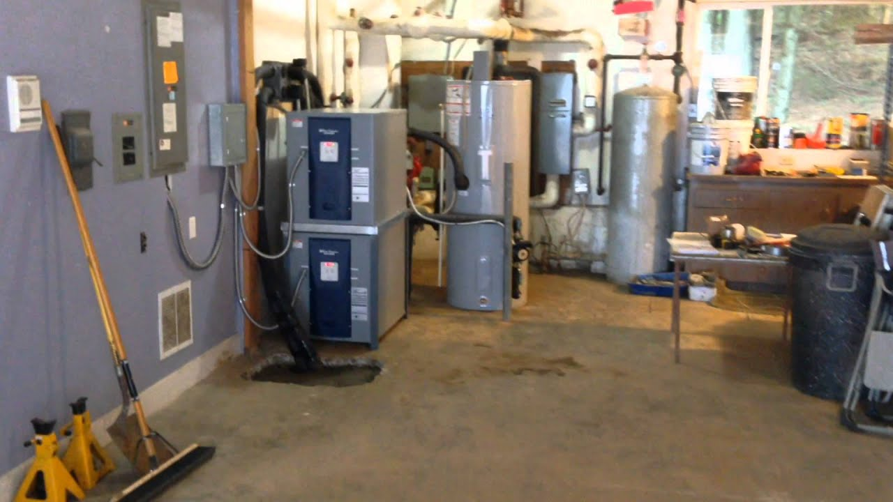 Dual Waterfurnace Nsw Geothermal Heating Systems Youtube
