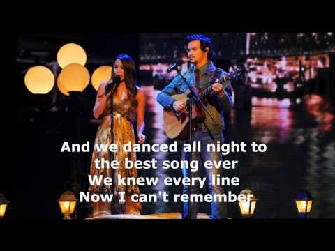Alex and Sierra - Best song ever (lyrics + pictures) HD