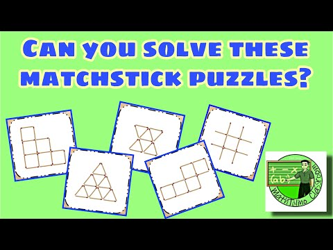 Matchstick Puzzles (Can