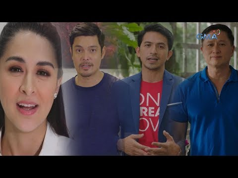 "Dingdong, Marian , Dennis and Eric Quizon for ""A World of Prayer is a World of Peace"" - 동영상"