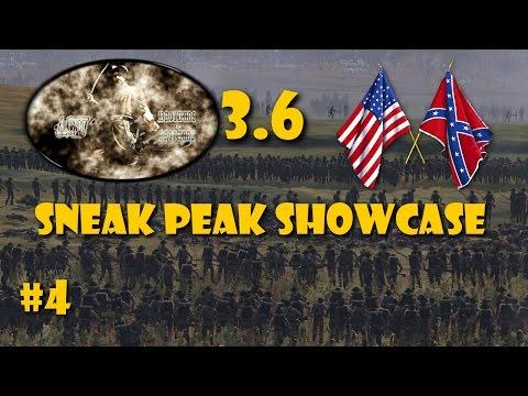 The American Civil War 3.6 - Sneak Peak #4 ~ The Campaign Map! |