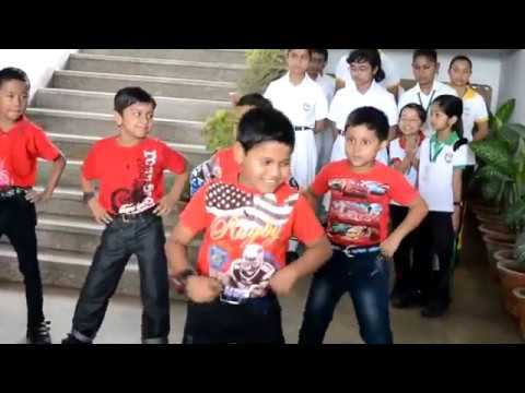 hip hop father's day song dance in the morning assembly by the Class I students of DPS Kamrup,Baihat