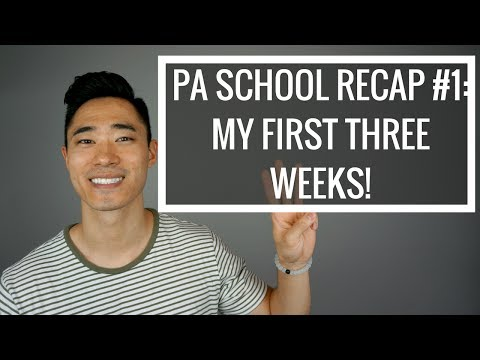 PA SCHOOL RECAP #1: MY FIRST THREE WEEKS!