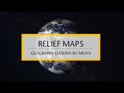 MOVA Geography: Relief Maps