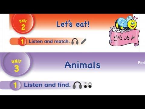 مراجعة دروس اللغة الإنجليزية للصف الأول