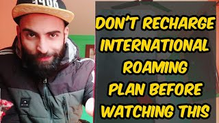 How to activate Jio international Roaming plan    Jio international roaming ko kaise activate kare