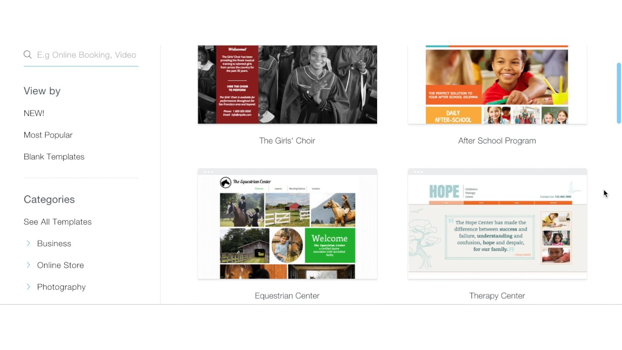 Wix – Online Tools for Teaching & Learning