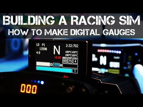 How To Make A Digital Dash For Racing Simulators Using Sim Hub And An Old Smartphone