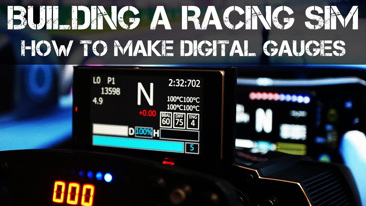 How to make a Digital Dash for Racing Simulators using Sim Hub and an Old  Smartphone