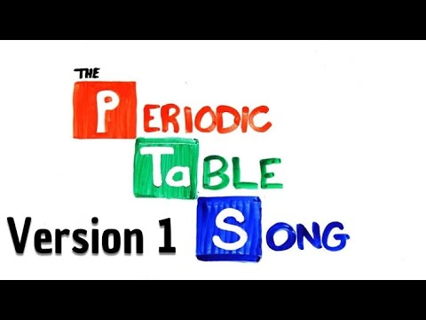 The Periodic Table Song instrumental by AsapSCIENCE