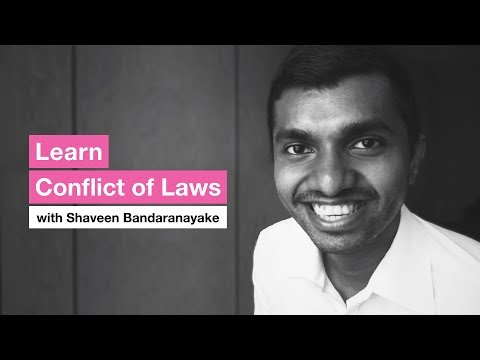 Learn Conflict of Laws!