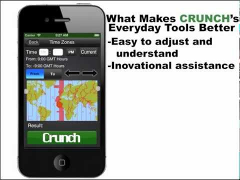 Crunch - All In One Calculator Application For iOS