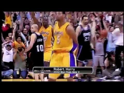 Robert Horry game winner shot vs kings 2002