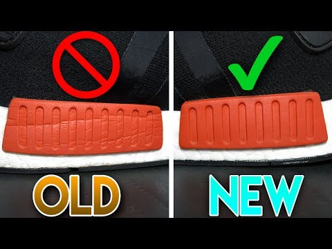 *1:00 MINUTE TRICK* 100% BEST WAY TO MAKE YOUR NMD'S LOOK BRAND NEW!!!
