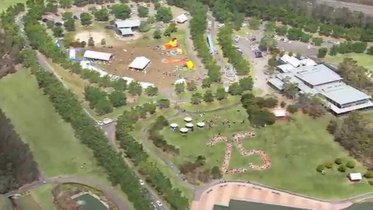 Sydney Olympic Park Australia Day 2013