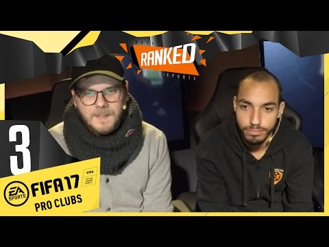 [3/3] FIFA 17 Pro Clubs #7 mit Etienne, Lars, Gunnar & MoAubameyang | Ranked | 28.11.2016