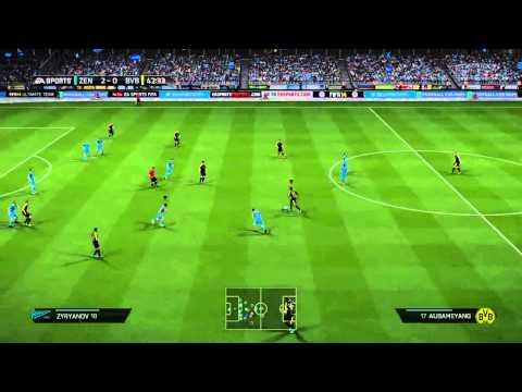 [HD] UEFA Champions League: Zenit vs. Dortmund (25-02-14) | Prediction/Prognose | Fifa 14 - PS4
