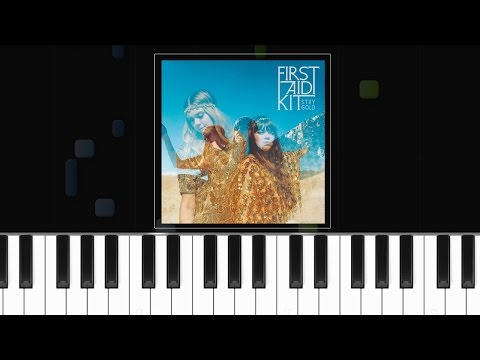 "Mix - First Aid Kit - ""My Silver Lining"" Piano Tutorial - Chords - How To Play - Cover"