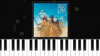 "First Aid Kit - ""My Silver Lining"" Piano Tutorial - Chords - How To Play - Cover"