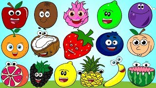 Fruit Colors Song 3