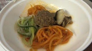 cibo coreano sul volo ASIANA Roma Seoul