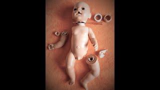 Інструкція по ремонту пупсів Baby Born оригінал. Лагодження навісних кінцівок.