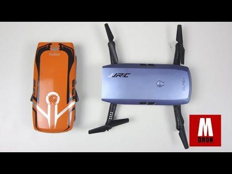 ANALISIS JJRC H47 ELFIE+ Y DEL FURIBEE H818: Drones selfie con camara en español