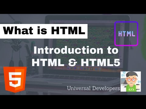 Introduction To HTML | Introduction To HTML For Beginners | Introduction | HTML