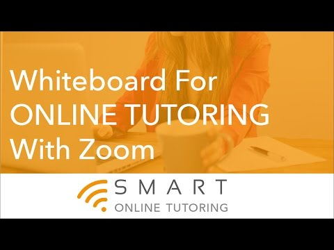 Whiteboard For Online Tutoring With Zoom