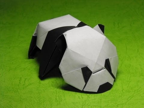 origami baby panda by jacky chan youtube