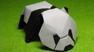 Origami Baby Panda by Jacky Chan