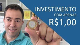 INVESTIMENTO A PARTIR DE R$1,00 | Investimentos