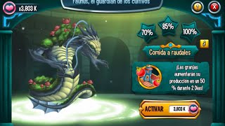 Monster Legends l Templos l Faunus, el guardian de los cultivos