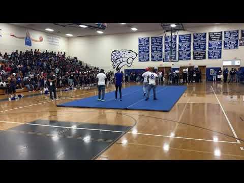 F.L.Y. & Easton Perform Swag Surfin Live at Stephenson High School