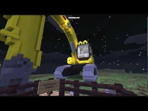 Minecraft Bagger Bauprojekt YouTube - Minecraft lustige hauser