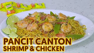 How to Cook Pancit Canton (Shrimp and Chicken)