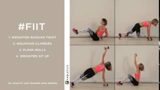 #FIIT | 4 Moves To Strengthen Your Core