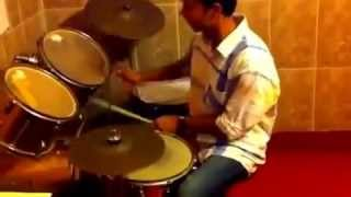 Dhol beats on Drums