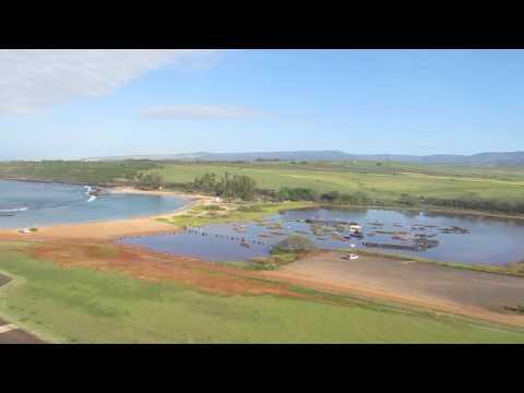 Niihau Helicopter - Taking Off From Kauai