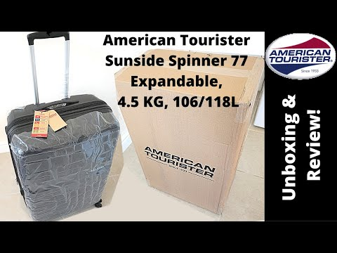 American Tourister Sunside Spinner - Unboxing & Review!!!