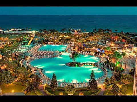 Hotel Miracle Resort Turcja Antalya Lara Youtube