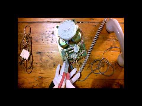 Replace Line Cord 802 Telecom PMG Dial Vintage Phone