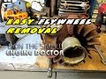 HOW-TO Easily Remove A Flywheel On A Small Engine