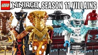 Meet the New LEGO Ninjago Season 11 VILLAIN Minifigures (Official Images) *Best Villains Ever?!*
