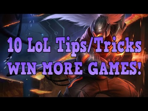 Lol Guide: 10 Tips To Help You Win More Games!