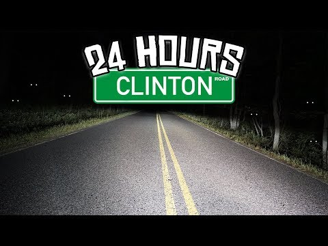 24 HOUR OVERNIGHT CHALLENGE at CLINTON ROAD!