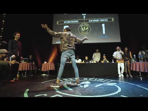 FSF 2017 Championship // Uptown Rockers vs Slim Boogie & Twoface // Popping -  Final